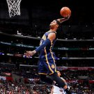 Paul George Slam Dunk Indiana Pacers Basketball 32x24 Print Poster