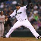 Felix Hernandez Seattle Mariners Baseball Sport 32x24 Print Poster