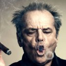 Jack Nicholson Portrait Cigar Hair Amazing Actor 24x18 Wall Print POSTER