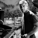George Clooney Amazing BW Portrait Handsome Rare 24x18 Wall Print POSTER