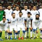 Team Players Greece 2014 FIFA World Cup Brazil Football 24x18 Wall Print POSTER