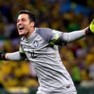 Julio Cesar Goal Celebration Colombia World Cup Brazil 24x18 Wall Print POSTER