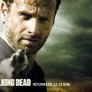 Rick Grimes Andrew Lincoln Revolver The Walking Dead 24x18 Wall Print POSTER