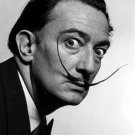 Salvador Dali Portrait Moustache Surrealism Old Retro 24x18 Wall Print POSTER