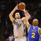 Manu Ginobili San Antonio Spurs Shot Basketball Sport 24x18 Wall Print POSTER
