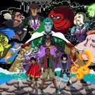 Captain Planet And The Planeteers Cartoon Characters 24x18 Wall Print POSTER