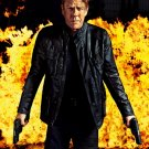 24 Live Another Day Jack Bauer Amazing Fire Tv Series 24x18 Wall Print POSTER