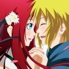 Naruto Namikaze Minato Kushina Uzumaki Anime Manga Art 24x18 Wall Print POSTER