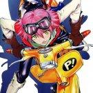 FLCL Haruko Haruhara Anime Manga Art 24x18 Wall Print POSTER