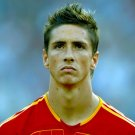 Fernando Torres Spain Portrait Football Soccer 24x18 Wall Print POSTER
