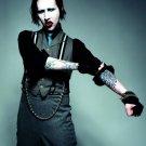 Marilyn Manson Tattoo Heavy Metal Shock Rock 2014 24x18 Wall Print POSTER