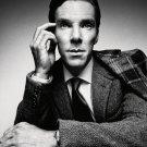 Benedict Cumberbatch Portrait Actor BW 24x18 Print Poster