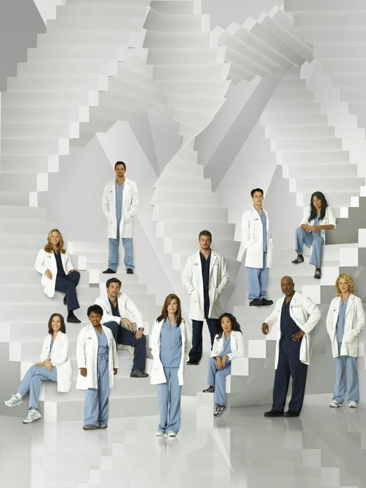Grey S Anatomy Cast Characters TV Series 24x18 Print Poster