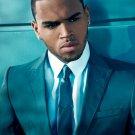Chris Brown Amazing Portrait Suit Handsome Elegant 16x12 Print POSTER