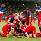 Team Players USA FIFA World Cup Brazil Soccer Football 16x12 Print POSTER