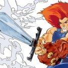Lion O Sword ThunderCats Cartoon TV Series Awesome Art 16x12 Print POSTER