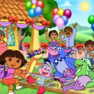 Dora The Explorer Birthday Party Beautiful Art Kids 16x12 Print POSTER