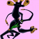 Ben 10 Feedback Alien Cartoon TV Series Art 16x12 Print POSTER
