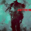 Justified Awesome Art TV Series 16x12 Print POSTER