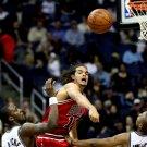 Joakim Noah Monster Block Chicago Bulls Basketball 16x12 Print POSTER