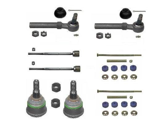 Ball Joints Tie Rods Sway Bar Links FORD Mustang 1994 - 2001