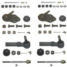 Park Avenue 1991-1996 Front Ball Joints, Inner and Outer Tie Rods, Sway Bar Links