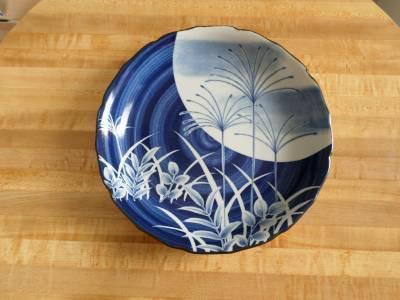 "TOYO Large Decorative Bowl Japan - Japanese 12 1/2"" wide"