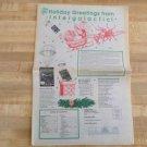 Vintage Intergalactic Trading Holiday 1995 Catalog-Star Trek-Star Wars-Playmates