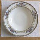"Vintage Lenox Golden Gate pattern china bowl 9"" x 1 1/2"""