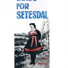 GUIDE FOR SEVESDAL Norway 1969 brochure - travel - tourist