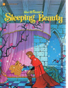Vintage Golden Book - SLEEPING BEAUTY - 1986 - Disney