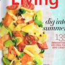 MARTHA STEWART LIVING August 2011 -Decorate With Shells-Maine-New Fruit Salads +