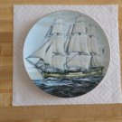 Danbury Mint Great American Sailing Ship Collector's Plate-The Alfred-Maritime