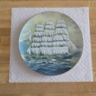 Danbury Mint Great American Sailing Ship Collector's Plate-The Roanoke- Maritime