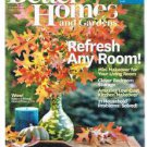 BETTER HOMES AND GARDENS October 2013- Bedroom Storage-Gourd Vase-Mini-Makeover