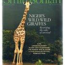 Smithsonian Magazine November 2008-Niger's Giraffes-Korean War-Munich-Lincoln +