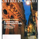Smithsonian Magazine March 2007 -Caravaggio's Italy-Helsinki-Archimedes-Amazon +