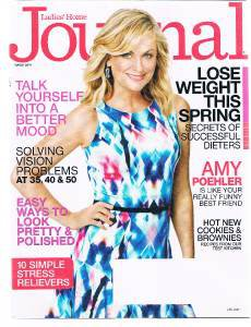 Ladies Home Journal Magazine March 2014 Amy Poehler-Stress Relievers-Better Mood