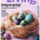 Martha Stewart Living Magazine April 2015 -Easter Eggs-57 Cleaning Secrets-Meals