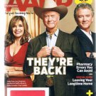 AARP Magazine June 2012 -Dallas Back -Larry Hagman - Linda Gray -Patrick Duffy +