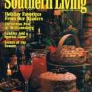 SOUTHERN LIVING Magazine December 1986 -Williamsburg Christmas -Candles -Recipes
