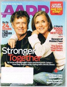 AARP Magazine December 2011 -Meredith Vieira-Richard Cohen -Jane Goodall-Dr OZ +