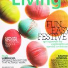 Martha Stewart Living Magazine  April 2012 -Cupcakes-Easter Arsenal-Labels 101 +
