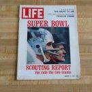 Life Magazine January 14 1972-Super Bowl VI-Dallas Cowboys-Staubach-Landry-Ski +