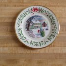 Lenox 2000 Annual Christmas Plate -Tenth in series - Bring Home Christmas- China