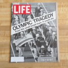 Life Magazine 15 September 1972 Olympic Tragedy Munich -Bobby Fischer -Computer