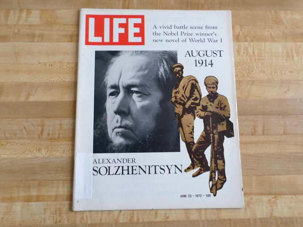Life Magazine 23 June 1972 -Alexander Solzhenitsyn -Gypsy Moth-World Pollution +