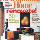 METROPOLITAN HOME Magazine September 2003 -50 Pages Of Magical Makeover-solution