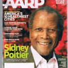 AARP Magazine September 2008-Sidney Poitier- Zen Gardening-Coping/Selfish Spouse