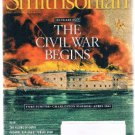 SMITHSONIAN Magazine April 2011 -Civil War Begins-Fort Sumter-Capri-Temple Mount